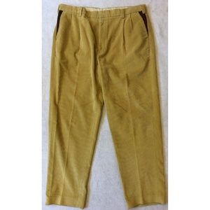 Orvis Men's Supercord Khaki Corduroy Pants Sz 42